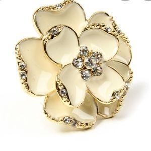 Amritah singh camellia ring